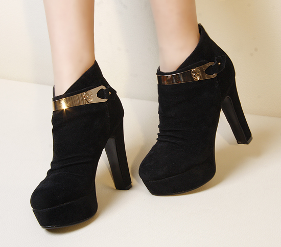 boots with heels black high heels ankle boots pvfyesz