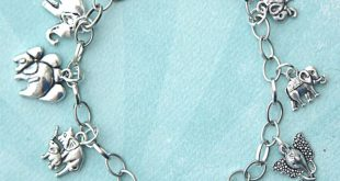 bracelet charms elephants charm bracelet XYJXKVP