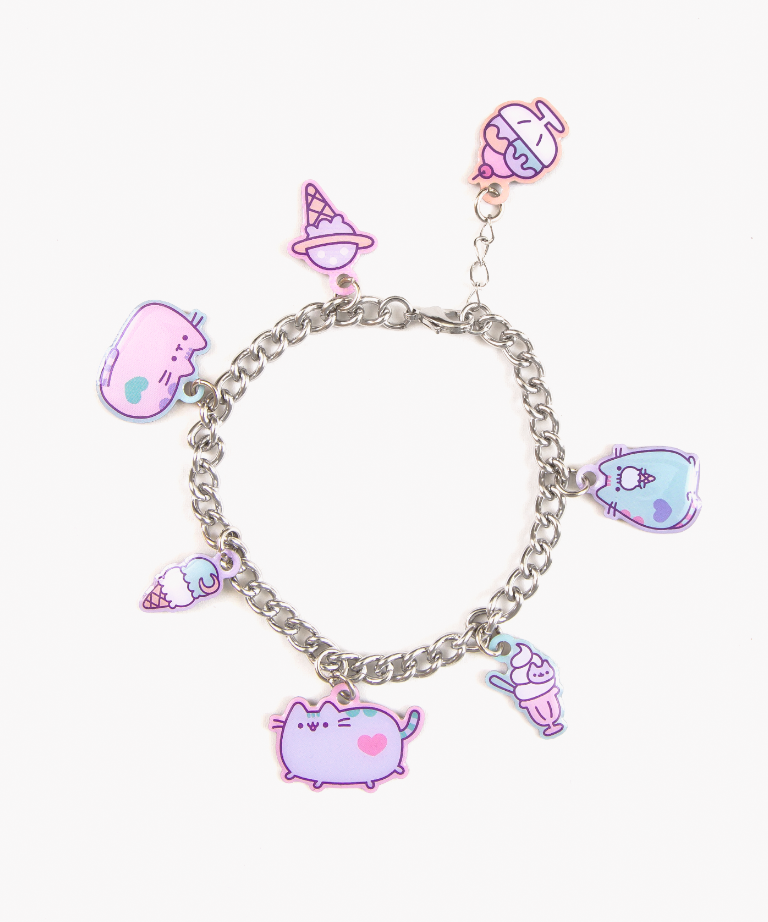 bracelet charms pusheen ice cream party charm bracelet CNNRGCI