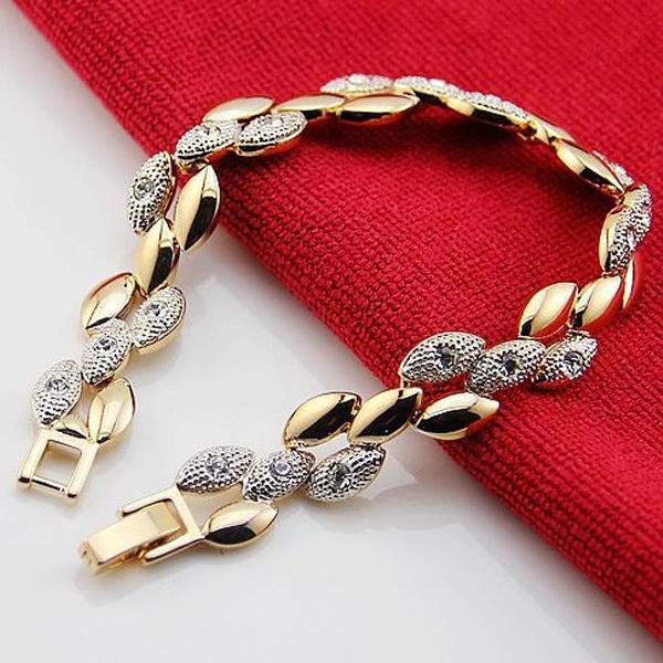 bracelets for women aliexpress.com : buy valen bela wheat chain link women gold bracelets  crystal new 2017 cducojz