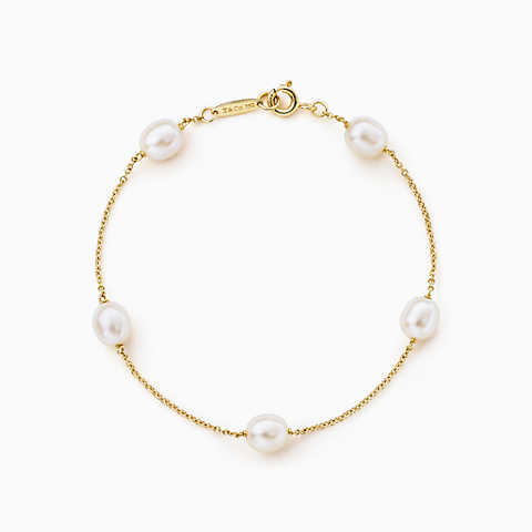 bracelets for women new elsa peretti® pearls by the yard™ bracelet in 18k gold. lgqmzpa