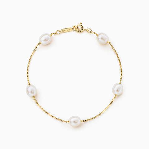 bracelets for women new elsa peretti® pearls by the yard™ bracelet in 18k gold. lgqmzpa