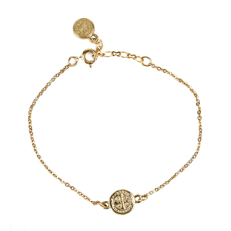 breathe chain bracelet gold ibdataa