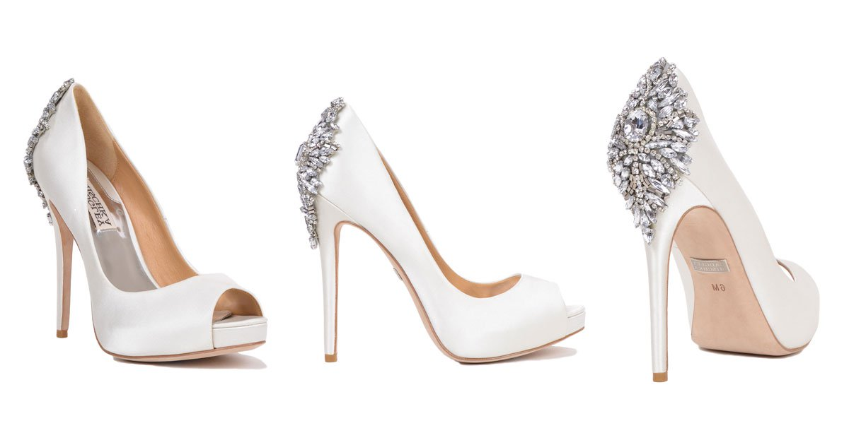 bridal heels wedding shoes from designer badgley mischka mqaqclt