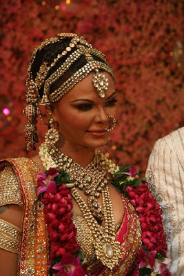 bridal jewellery rakhi sawant with indian bridal kundan jewellery ctmnctf