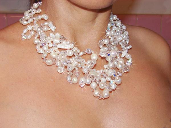 bridal necklaces unique venus pearl bridal choker necklace mdkfubc