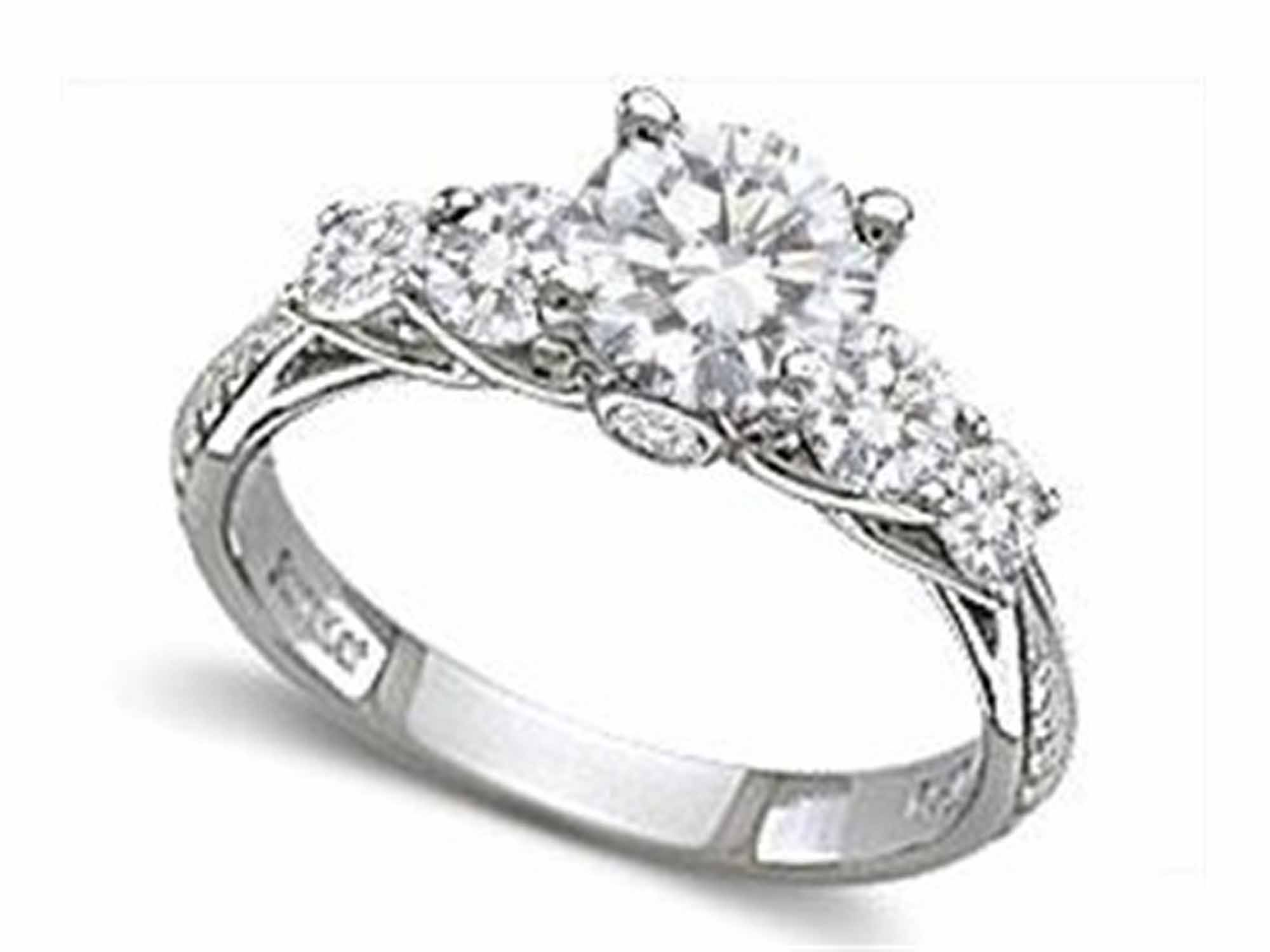 halo with amazon a j center i rings dp engagement carat gorgeous milgrain diamond channel round ring designer com set