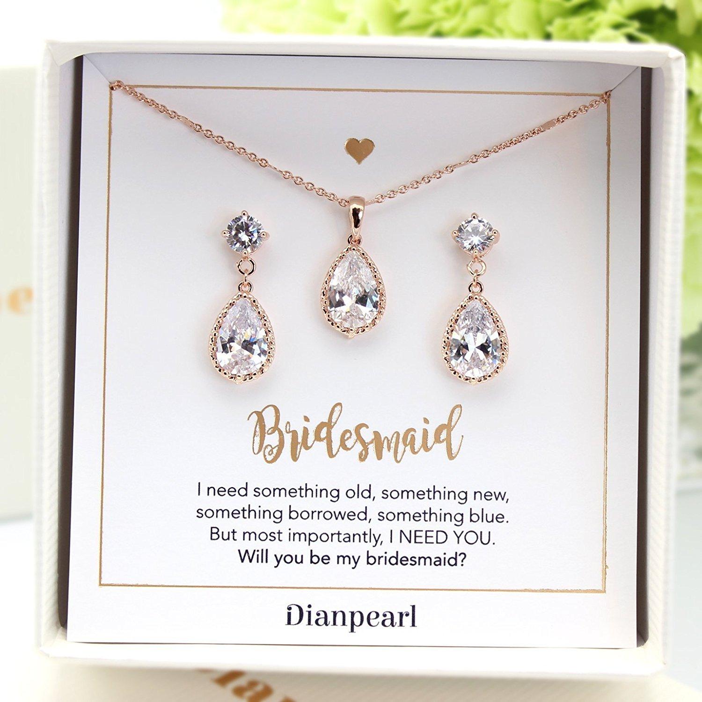 bridesmaid jewelry, bridesmaid jewelry set, bridesmaid earrings, bridesmaid  jewellery, bridal accessories, bkttnox