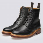 The suitability of the brogue boots