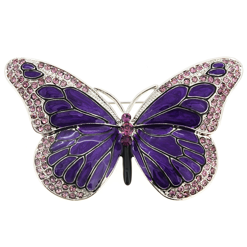 Is There Any Age Limits For Wearing Butterfly Brooch ...