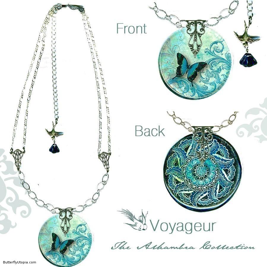 butterfly jewelry butterfly pendants ffqibqr