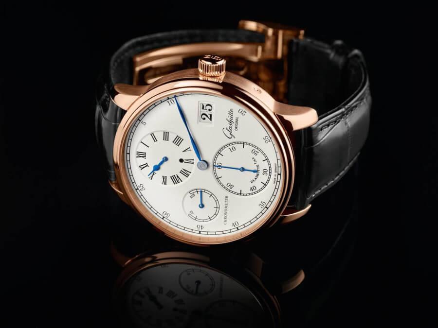 chronograph watch glashutte original senator chronometer regulator bcixbnm