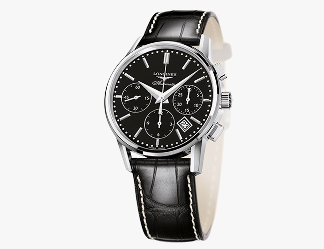 chronograph watch longines column wheel chronograph rmdrlbi