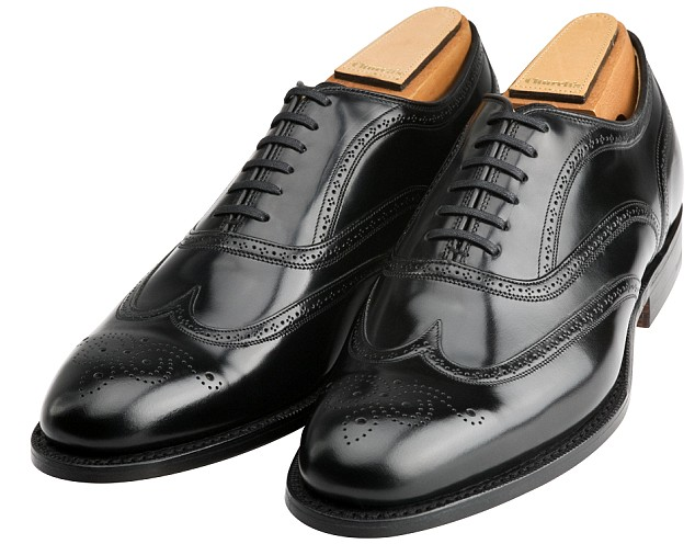 church shoes black leather wingtip oxford shoes by churchu0027s uorgsnw