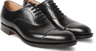 church shoes churchu0027sdubai polished-leather oxford shoes evoijhi