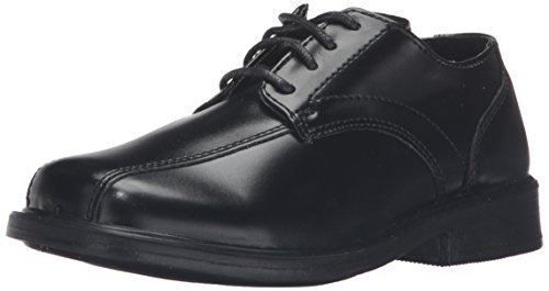 church shoes deer stags gabe lace-up dress shoe (toddler/little kid/big kid),black,6 m  us big kid szjkxes
