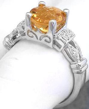 citrine rings checkerboard faceted citrine and diamond rings fjgdbur