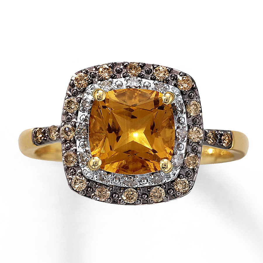 Changing the conversation courtesy of the citrine rings