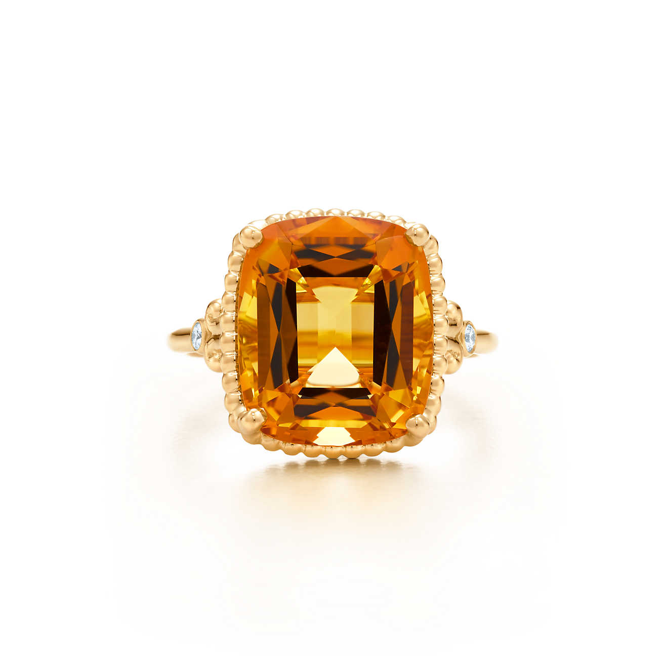 citrine rings tiffany sparklers citrine ring in 18k gold with diamonds. | tiffany u0026 co. gchymxn