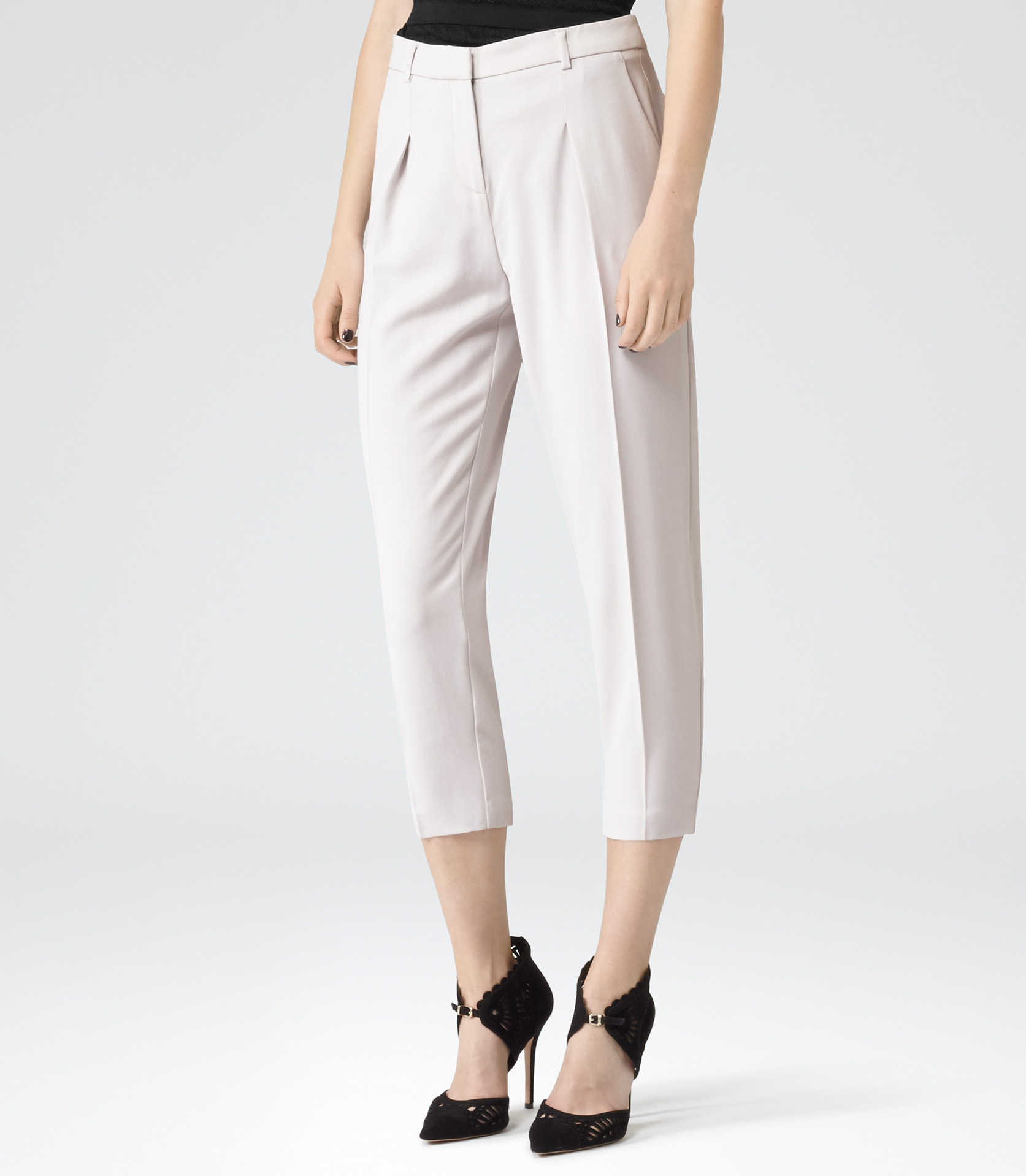 COMFORT AT ITS BEST; WOMEN'S TAPERED TROUSERS