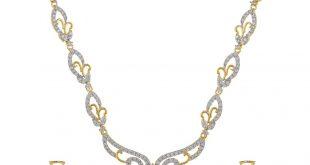 classique designer jewellery golden alloy necklace set ... tnsfkbk