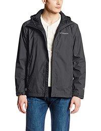 coats for men columbia menu0027s watertight ii front-zip hooded rain jacket sfnvcih