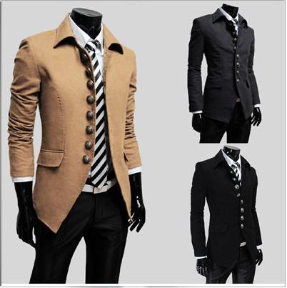 coats for men hot men outerwear u0026 coats overcoat wool coat men trench  coats ivxfdbu