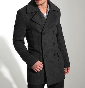 coats for men how men can find the best fitting pea coat moqbxsj