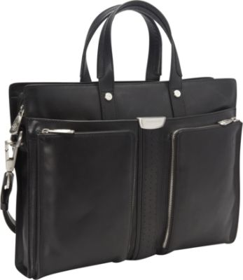 computer bags for women ferrari luxury collection elite laptop case three frontal pockets blacks -  ferrari luxury collection crzujti