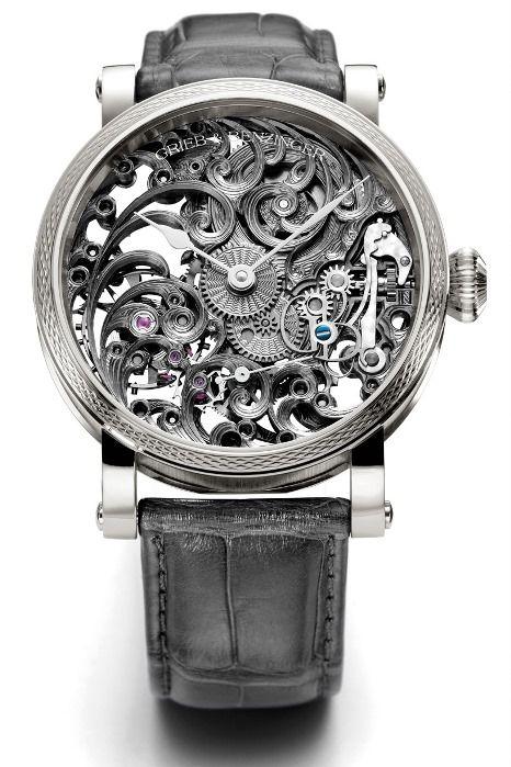 cool watches grieb benzing grey tulip... i want. mvskddd