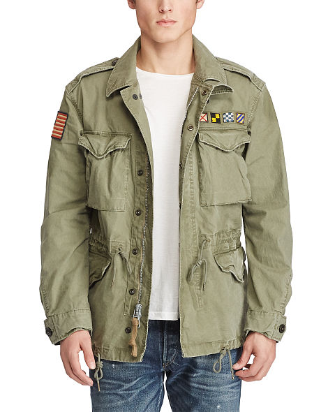 cotton canvas military jacket. continue shopping. close pmbdqre