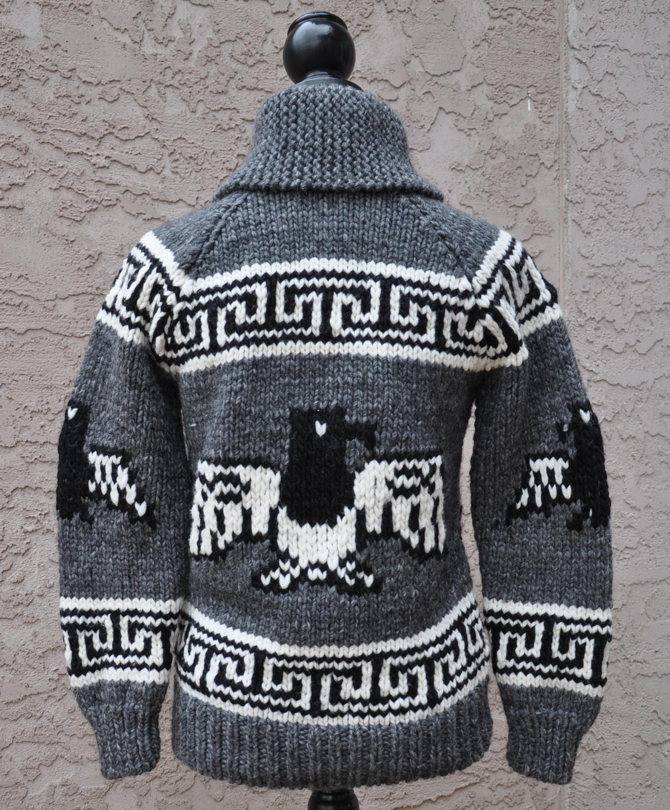 cowichan sweater back ... dfthuvf