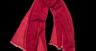 cressida - pure cashmere pashmina - cardinal red - cornelia james - 5 iputlue
