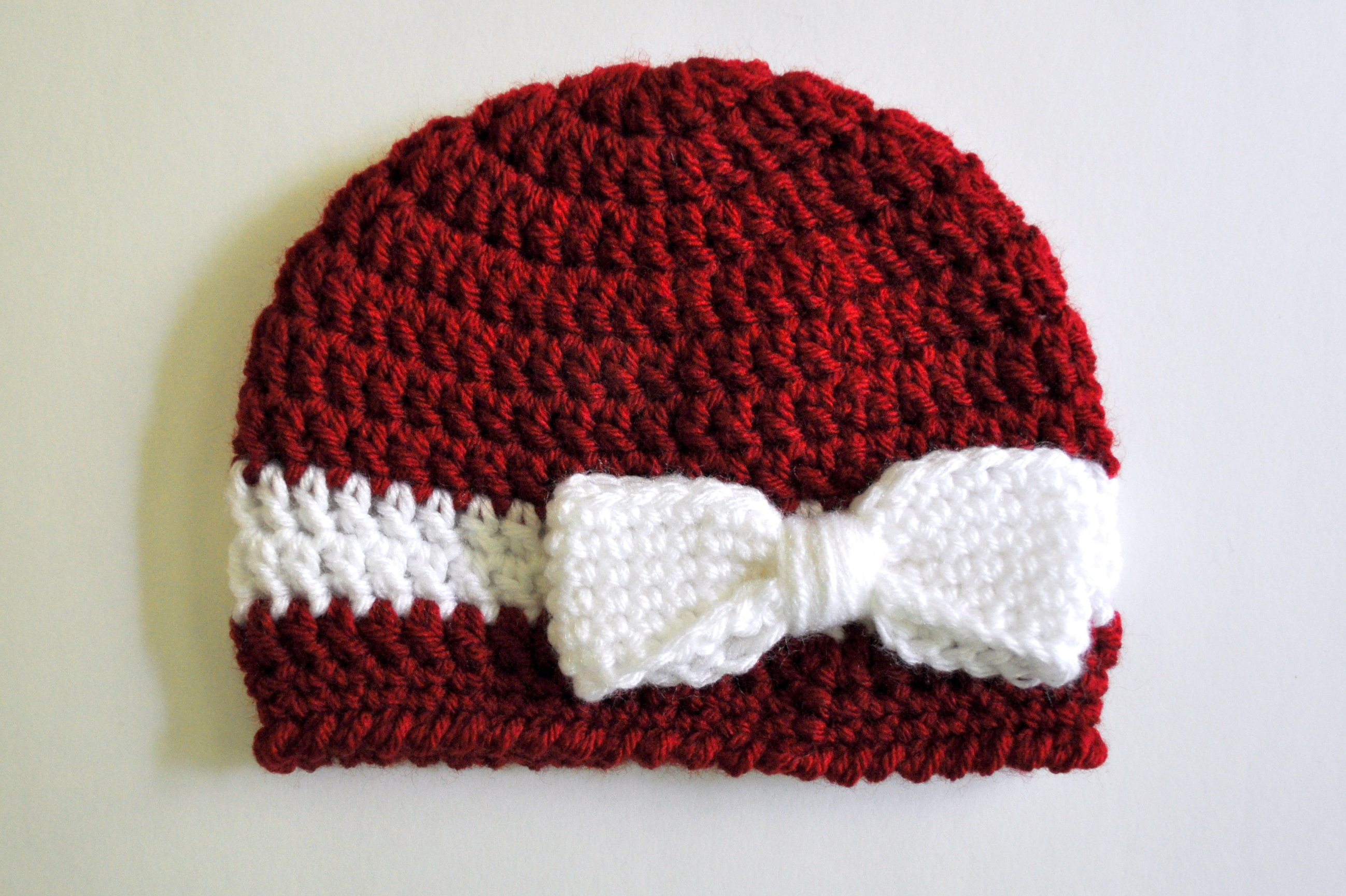 crochet baby hats crochet ribbon and bow baby hat pattern | classy crochet uclxrag
