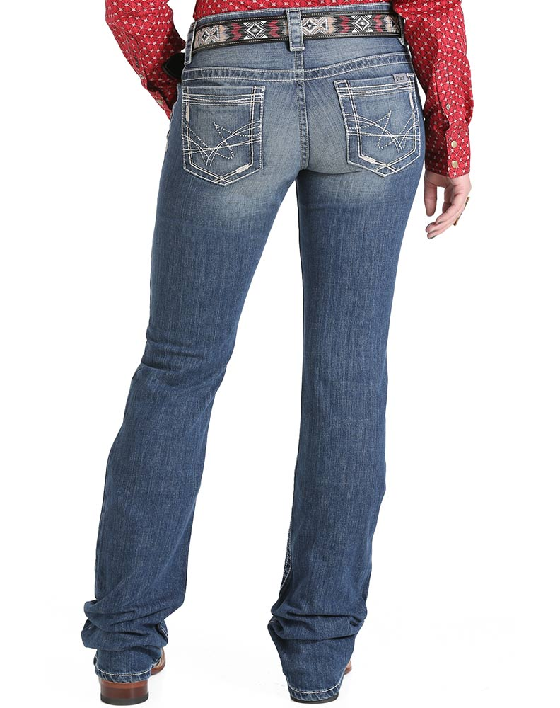 cruel girl jeans cruel womenu0027s abby mid rise slim boot cut jeans - medium stonewash jhtvzta