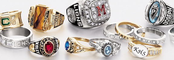 custom high school class rings asvgwht