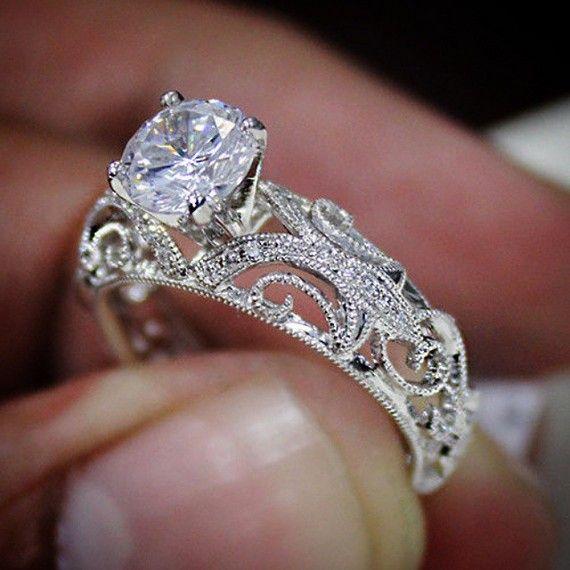 custom wedding rings 30 unique custom style diamond engagement rings lntwmhh