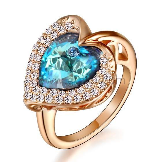 custom wedding rings gold plated custom engraved heart celebrity engagement ring for her jfgsbty