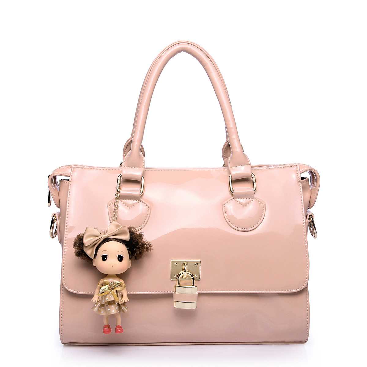 cute handbags cute cartoon patent leather handbag pink hmioynt
