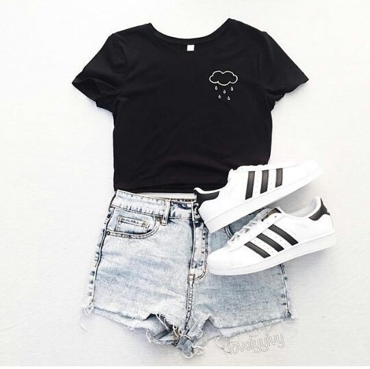 cute outfits for girls cool ways to wear outfits with adidas shoes (17) unwczib