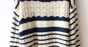 cute sweaters beige loose stripe sweater dhzatve