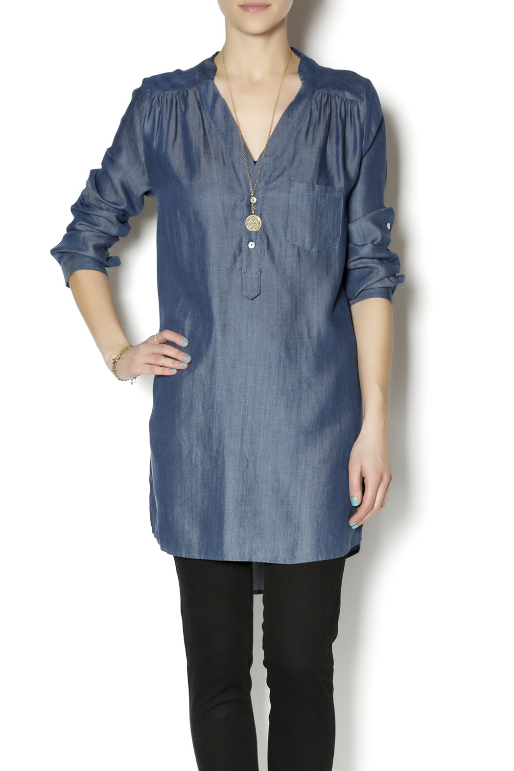 denim tunic - shoptiques kayhmpg
