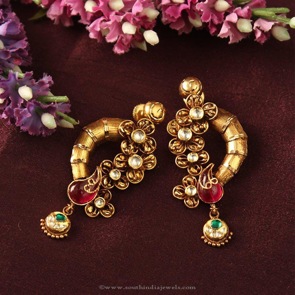 designer earrings designer ear studs from manubhai mwrdavq