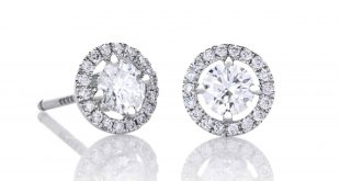 diamond earrings de beers aura stud earrings gptkajj