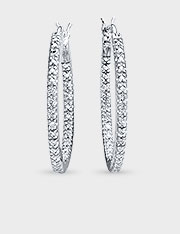 diamond earrings diamond hoop · diamond earring wfngspn