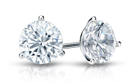 diamond stud earrings certified diamonds djiboyn