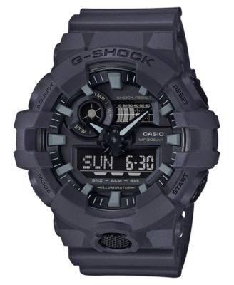 digital watches for men g-shock menu0027s analog-digital dark grey resin strap watch 53mm ospgpco
