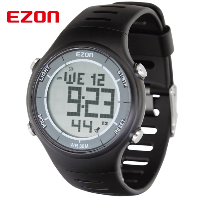 digital watches for men original ezon brand professional running sports digital watches men women  waterproof digital-watch clock dual mxgnhcu