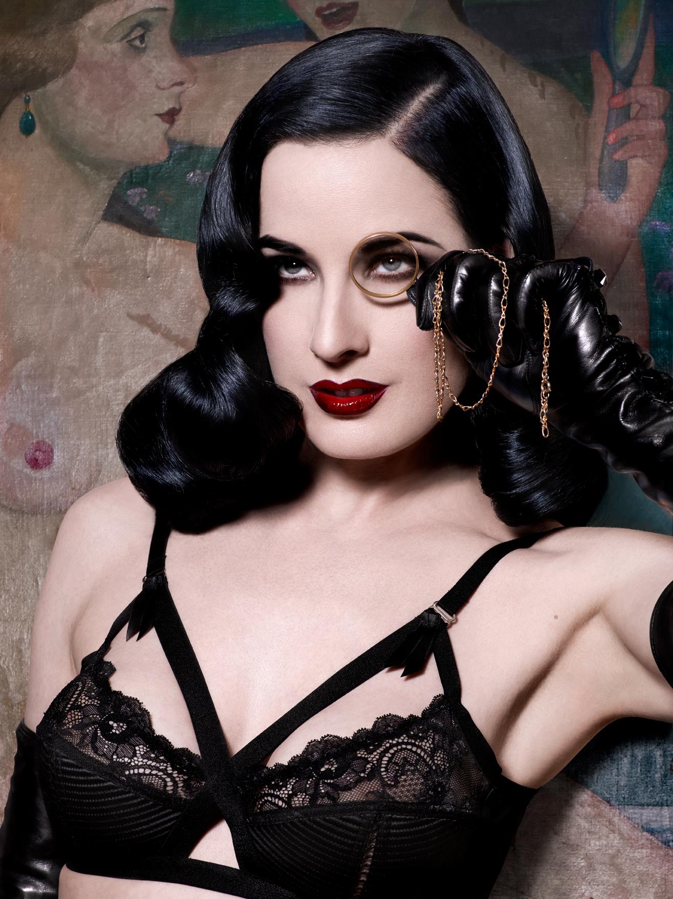 dita von teese lingerie dita von teese models the mad x bra. mtsdngn