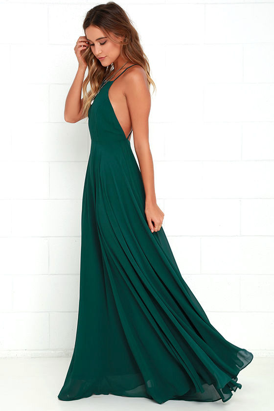 dress for wedding guest mythical kind of love dark green maxi dress 1 hweqdgf